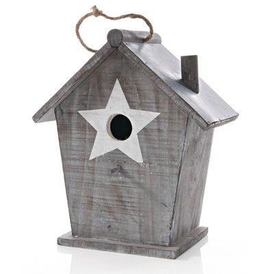 PureDay Hängendes Vogelhaus Star