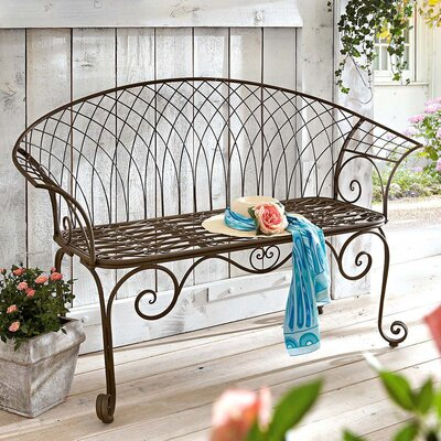 PureDay Gartenbank Soleil aus Metall