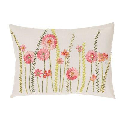 PureDay Kissenhülle Cottage Blumen aus 100% Baumwolle
