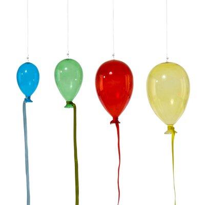 PureDay 4-tlg. Dekohänger-Set Bunte Luftballons