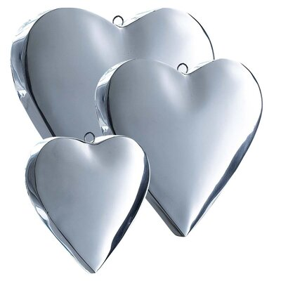 PureDay 3-tlg. Dekohänger-Set Hearts