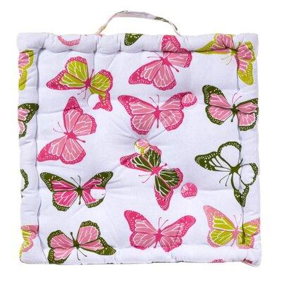 PureDay Gartenstuhlauflage Schmetterlinge