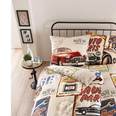 PureDay Bettwäsche-Set Car Service aus 100% Baumwolle-Renforcé