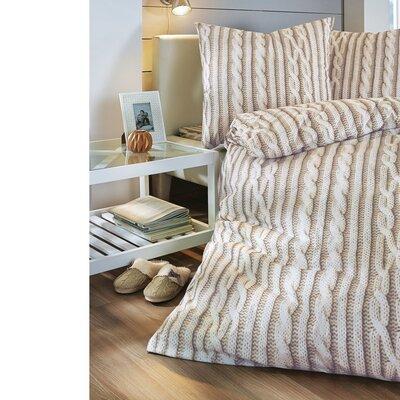 PureDay Bettwäsche-Set Strick aus 100% Baumwolle-Renforcé