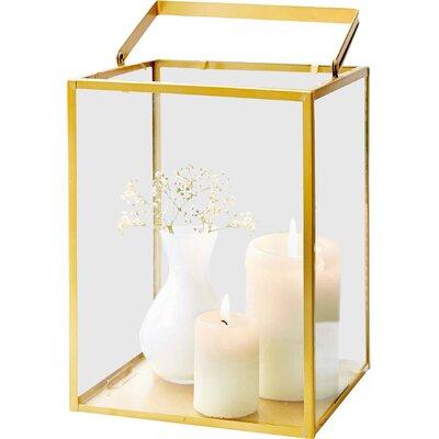 PureDay Windlicht aus Metall und Glas