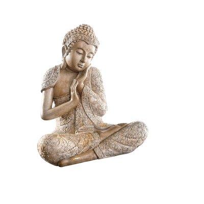 PureDay Dekofigur Buddha Relax