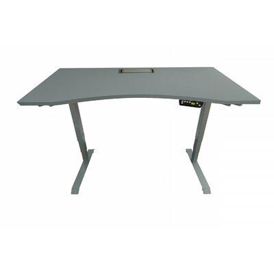 Adjustable Standing Desk Finish: Gray