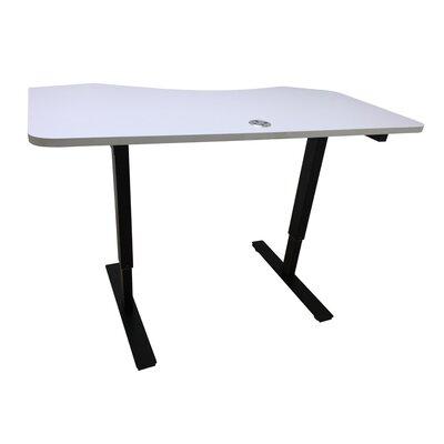 Crank Standing Desk Finish: White