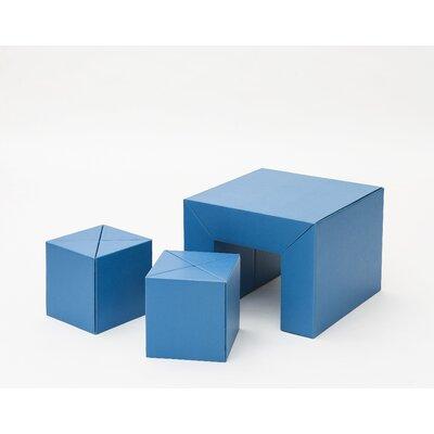 METROCS 3-tlg. Quadrat Kinder Möbel-Set Riki