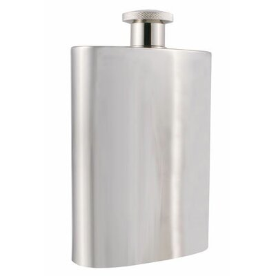 Titan Large Stainless Steel Hip Flask