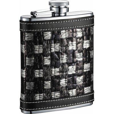 Thread Checker Stainless Steel Hip Flask