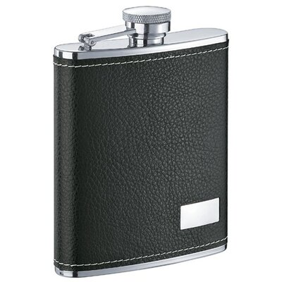 Eclipse Leather Flask