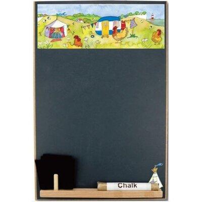 Emma Ball Glamping Half Chalk Board, 30cm H x 21cm W