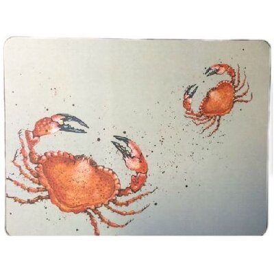 Emma Ball Caroline Cleave Crab Laminated Placemat