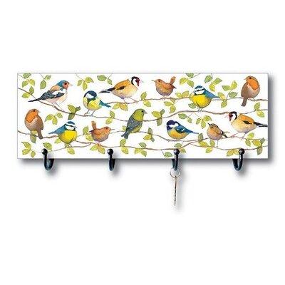 Emma Ball Garden Birds Coat Hook