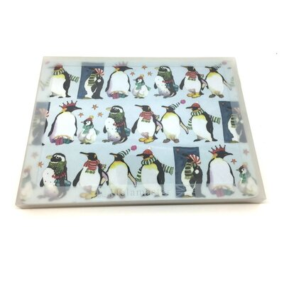 Emma Ball Winter Penguin Laminated Placemat