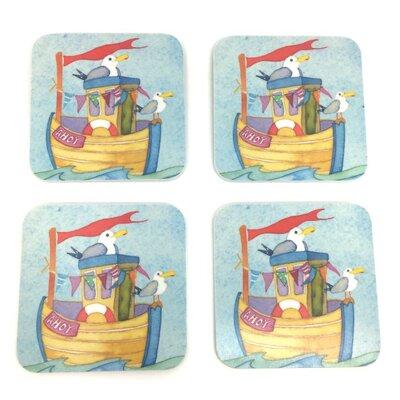Emma Ball Ahoy Melamine Coaster