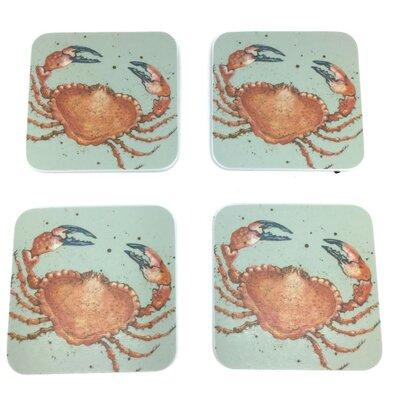 Emma Ball Crab Melamine Coaster