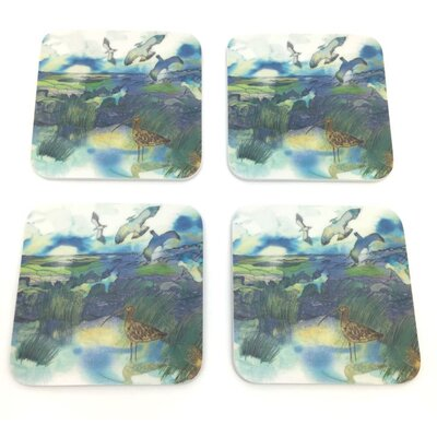 Emma Ball High Moors Melamine Coaster