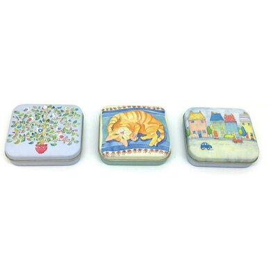 Emma Ball 3 Piece Assorted Mix of Pocket Tinware Set