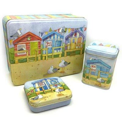 Emma Ball 3 Piece Coastal Tinware Set