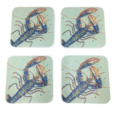 Emma Ball Lobster Melamine Coaster