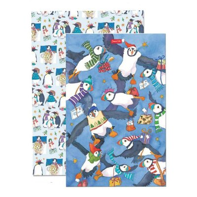 Emma Ball 2 Piece Christmas Tea Towel Set