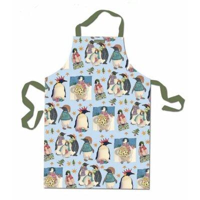 Emma Ball Christmas Penguin Cotton Apron