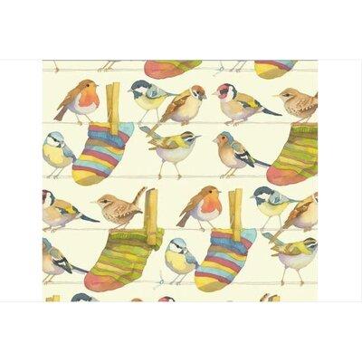 Emma Ball Garden Birds Laminated Coaster