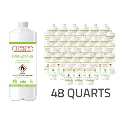 Bio Ethanol Fireplace Fuel - 48 Pack