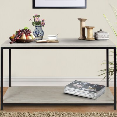 Studio Console Table Color: White Wash