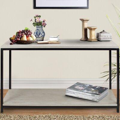 Studio Console Table Color: White Wash