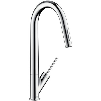Axor Axor Starck Single Handle Deck Mounted Kitchen Faucet
