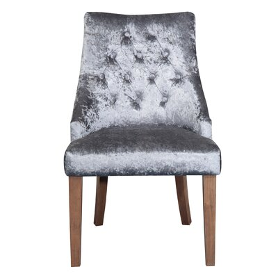 Indus Valley Krypton Solid Wood Upholstered Dining Chair