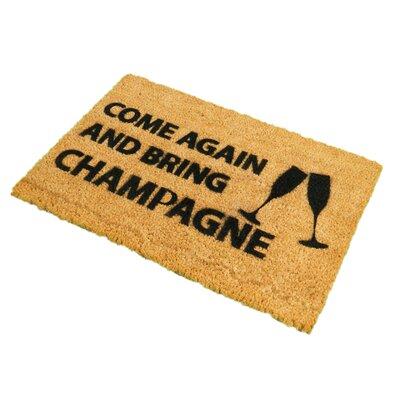 Artsy Doormats Come Again and Bring Champagne Doormat