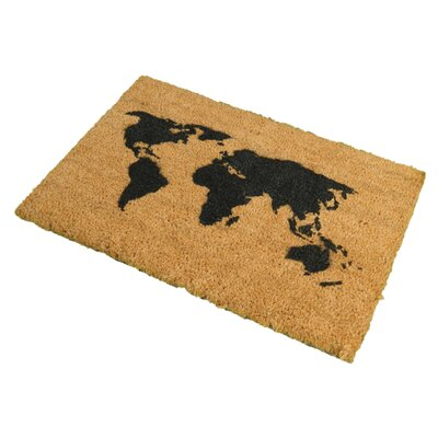 Artsy Doormats World Map Doormat