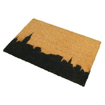 Artsy Doormats New York Skyline Doormat