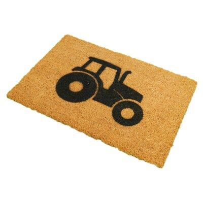 Artsy Doormats Tractor Doormat
