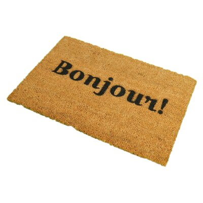 Artsy Doormats Bonjour Doormat