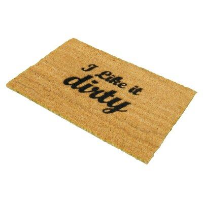 Artsy Doormats I Like it Dirty Doormat