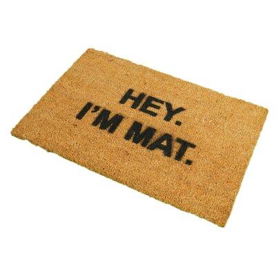 Artsy Doormats I'm Mat Doormat