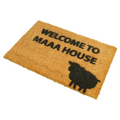 Artsy Doormats Welcome to Maaa House Doormat