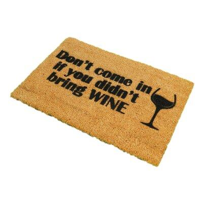 Artsy Doormats Without Wine Doormat