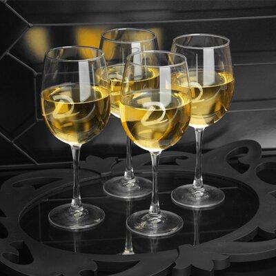 Alloway Personalized 19 Oz. White Wine Glass