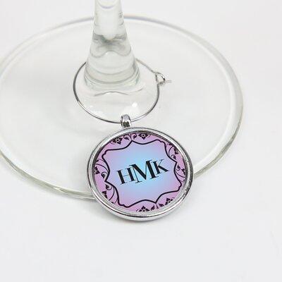 Bernards Personalized Glass Wine Charm