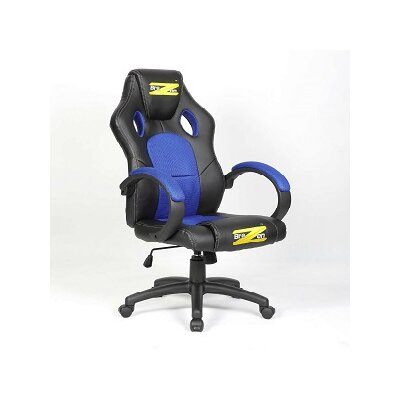 InteractiveMinds BraZen High-Back Mesh Task Chair with Arms