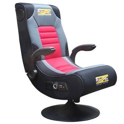 InteractiveMinds BraZen Spirit Duo 2.1 Bluetooth Surround Sound Gaming Chair