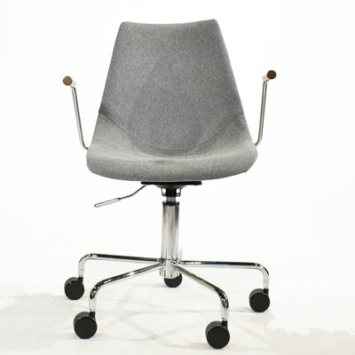 Pacifica Desk Chair Color: Grey