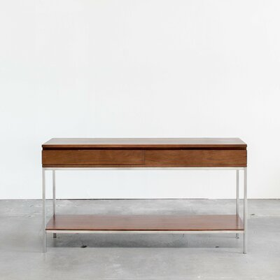 Rayna Console Table Color: Classic Walnut