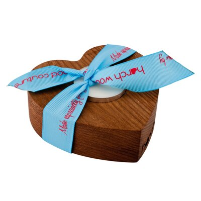 Harch Wood Couture Wood Tealight